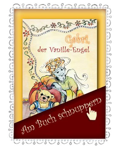 Engel Gabri - am Buch schnuppern