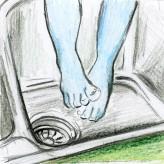 Was ein Engel im Waschbecken mit guten Ideen zu tun hat